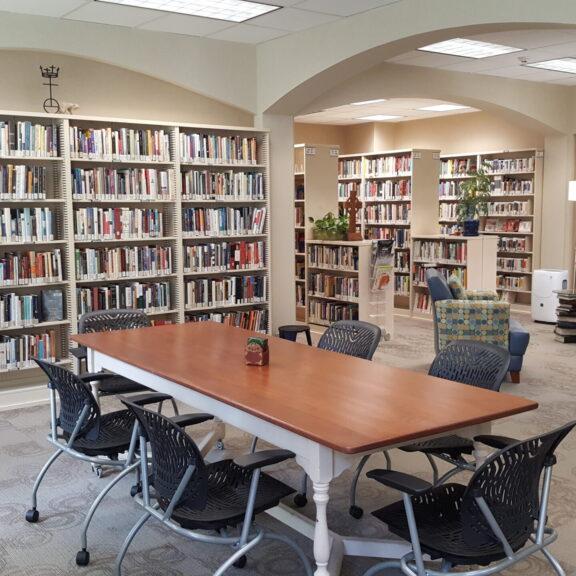 library main room